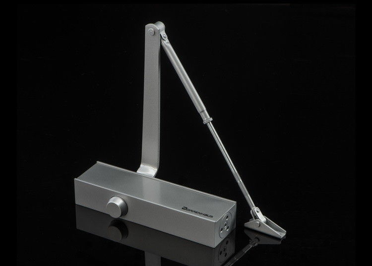 Commercial Regular Arm Steel Door Closer CE Certified Fire Safety Angle Limit 180º